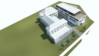 hospital in Tisnov - phase 2